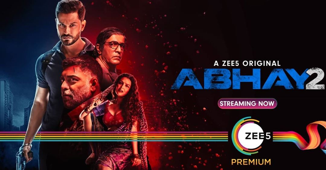 Abhay 2 Zee 5 abhay 2 cast, release date, web series, movie, raghav juyal, movie, web series cast, review, trailer