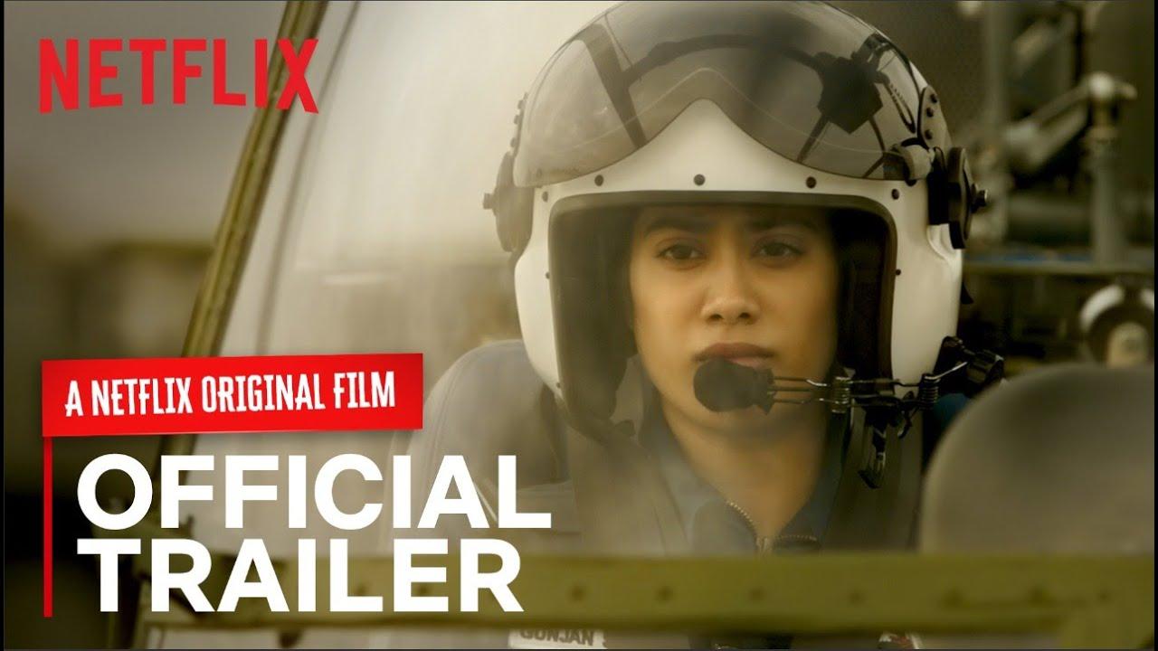 Gunjan Saxena Netflix Film Official Trailer Watch Online Free Download Torrent Telegram