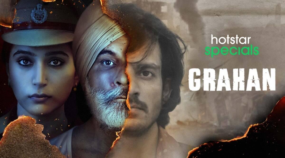 Grahan Web Series Poster Download